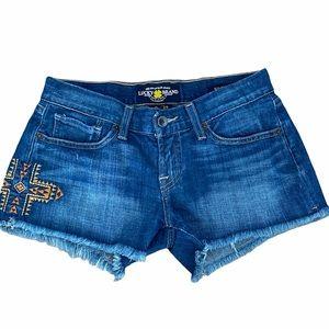 Lucky Brand Aztec Cross Riley Short